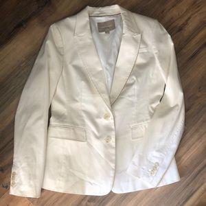Banana Republic sz 8 white classic blazer